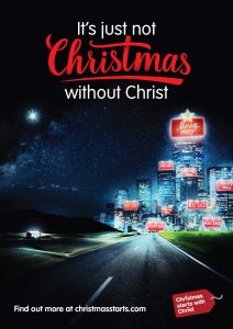 Christmas Starts with Christ 2016 Version 1 Poster